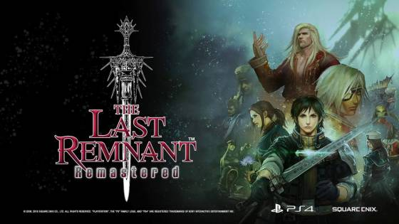 10 Years Later, Xbox 360-Exclusive RPG 'The Last Remnant' is Getting an Exclusive PS4 Remaster