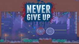 Buckle in for Some Challenging Platforming in the Upcoming Adventure of Never Give Up