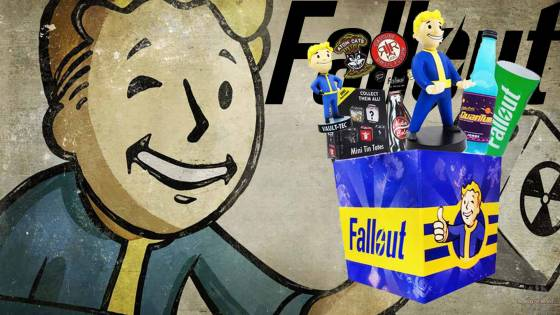 Fallout Gift Box with Exclusive Vault Boy Superhero Pin & Nuka Cola Blaster Review