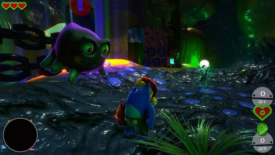 Heart Chain Kitty Brings 3D Platforming to Linux Soon