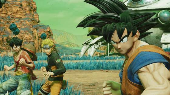 Jump Force Character Creator Mashes Up All Anime Styles Into One Tool