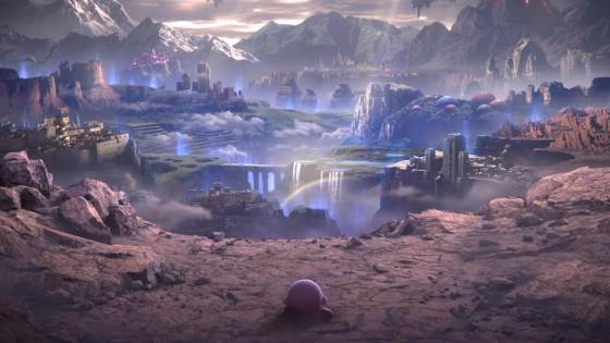Kirby Is The Last Surviving Fighter In The 'World Of Light Mode' For Super Smash Bros. Ult...