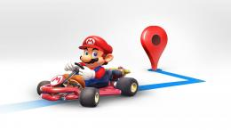 Mario Appears on Google Maps This Week for Mario Day