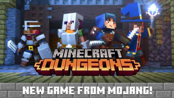 Mojang Announces Minecraft: Dungeons, a Dungeon Crawler Spinoff Set for 2019