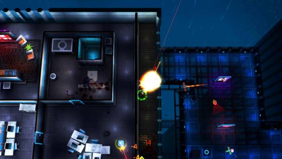 Neon Chrome Updated for Linux on GOG and Steam