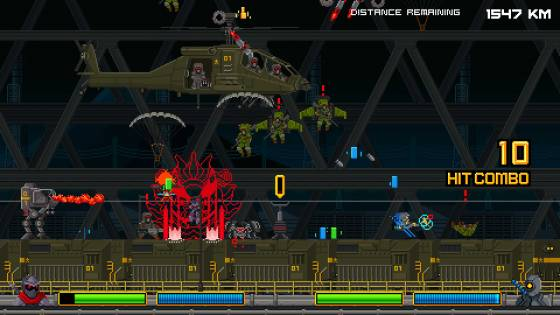 Neon Krieger Yamato Brings a New Breed of Puzzle-Platforming to Linux and Windows PC