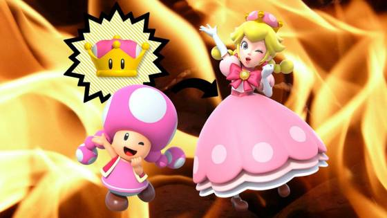 New Super Mario Bros U Deluxe Gives Toadette a Questionable Ability