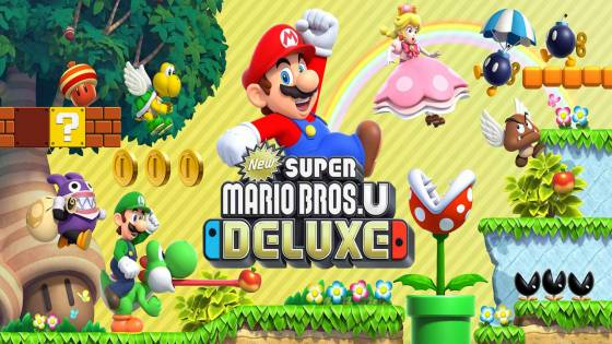 New Super Mario Bros. U Getting a Deluxe Version on Switch With 2 New Characters