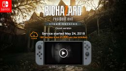 Resident Evil 7: Biohazard Coming to the Switch, But Only in Cloud Form